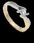 Pierścionek z diamentem PD 03