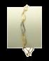 Bransoleta złota BZ 11