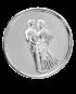 Medalion srebrny